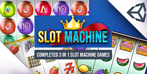 Slot Machine- Combo 3 In 1 Unity Casino Game