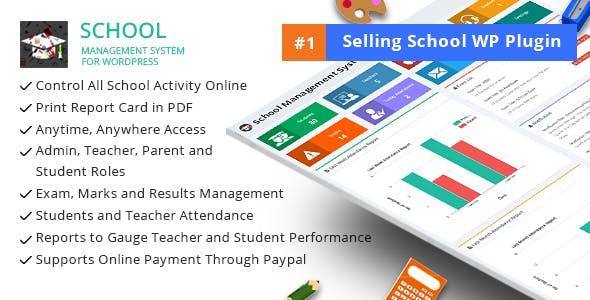 School Management System for Wordpress