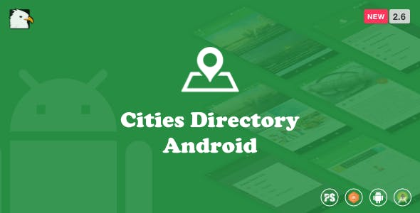 CitiesDirectory  (Directory Android App Based On Cities With Material Design) 2.6