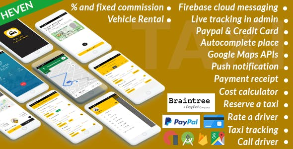 Taxi Cab - On Demand Taxi | Complete solution