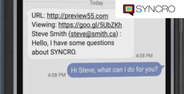 SYNCRO Live Chat Software WP Plugin - CodeCanyon Item for Sale