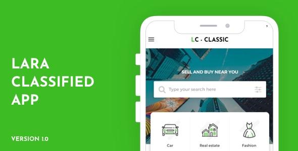 Lara Classified App - CodeCanyon Item for Sale