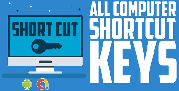 computer shortcut keys app |Software Shortcut Keys| All in One Shortcut's|  Android app |Admob ads