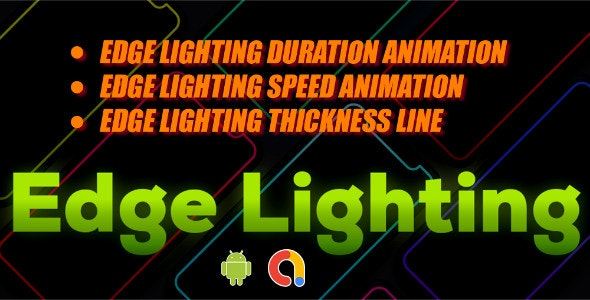 Edge Lighting Live Wallpaper Android App Full Code Admob