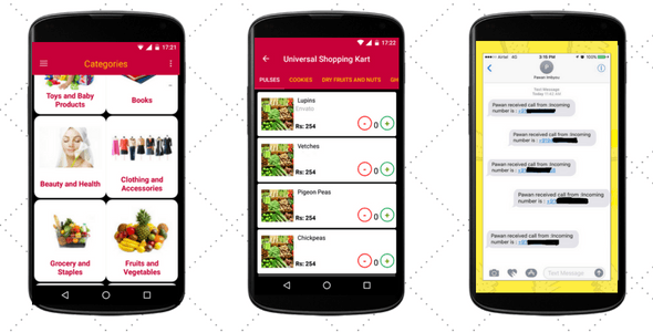 Shopping app with Firebase and Spy app - CodeCanyon Item for Sale