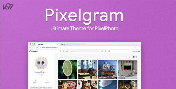 Pixelgram - The Ultimate PixelPhoto Theme