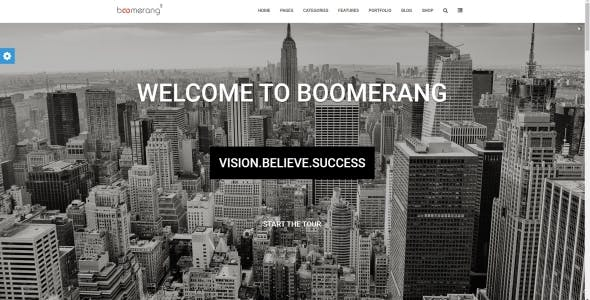 Boomerang MultiPurpose Template