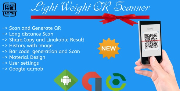 Android Light Weight QR Scanner - CodeCanyon Item for Sale