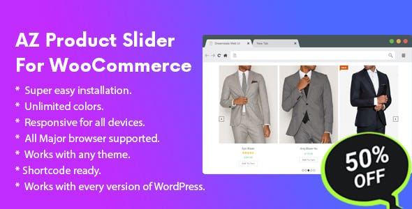 AZ Product Slider Pro For WooCommerce