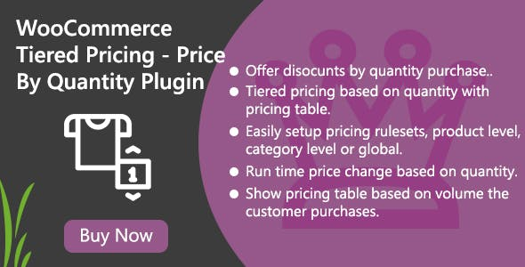 WooCommerce Tiered Pricing - Price By Quantity Plugin