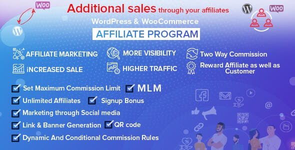 WordPress & WooCommerce Affiliate Program