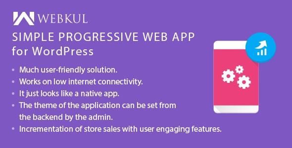 Simple Progressive Web App ( PWA ) for WordPress - CodeCanyon Item for Sale
