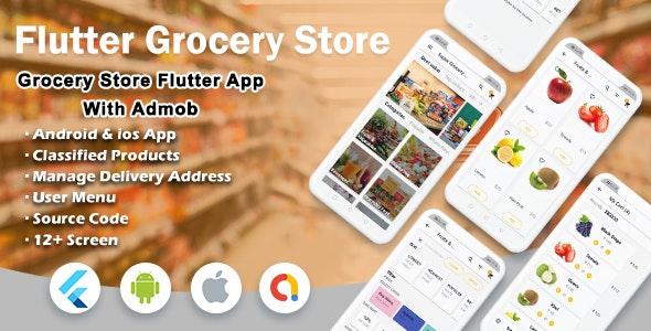 Flutter Super Grocery UI KIT - CodeCanyon Item for Sale