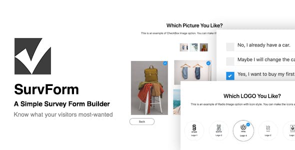 SurvForm - Survey Form Builder Plugin For WordPress