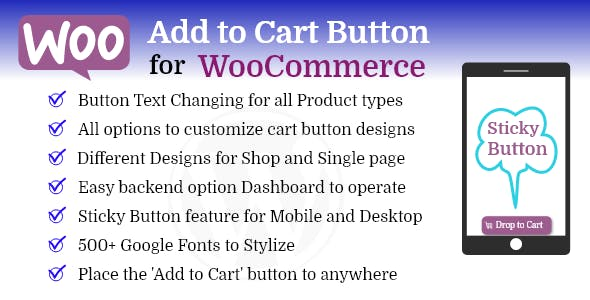 Add to Cart Button Pro for WooCommerce