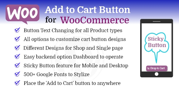 Add to Cart Button Pro for WooCommerce - CodeCanyon Item for Sale