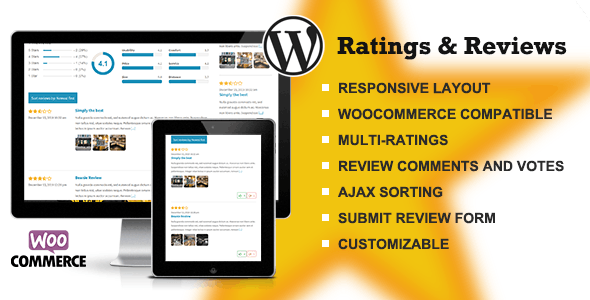 Ratings & Reviews plugin for WordPress - CodeCanyon Item for Sale