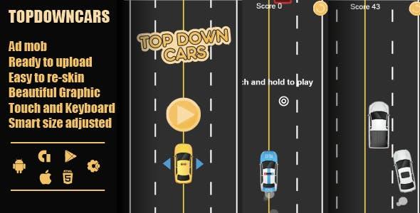 TopDown Cars html