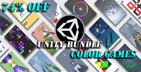 Unity Color Games Bundle - 74% OFF