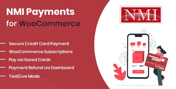 NMI Payments for WooCommerce - CodeCanyon Item for Sale