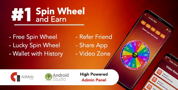 Spin To Win & Earn - CodeCanyon Item for Sale