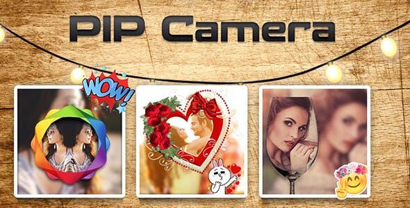 PIP Camera : Cinematic Photo Editor - Admob + Facebook Integration