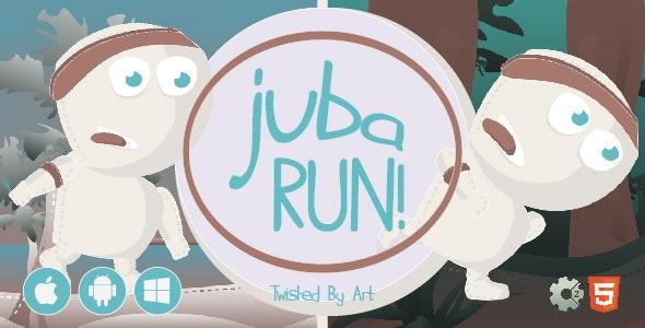 Juba Run • HTML5 + C2 Game - CodeCanyon Item for Sale