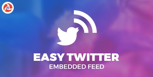 Easy Twitter Embedded Feed - CodeCanyon Item for Sale