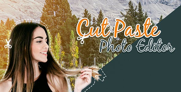 Cut Paste Photo Editor - Android App + Admob + Facebook Integration