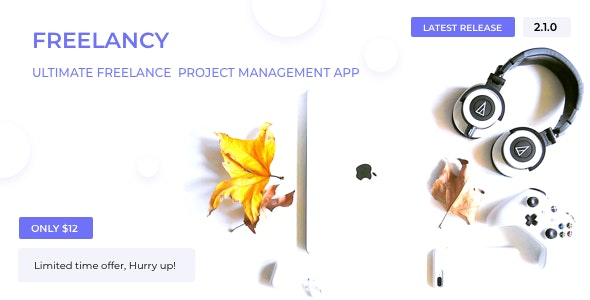 Freelancy - Ultimate Freelance Project Management App - CodeCanyon Item for Sale