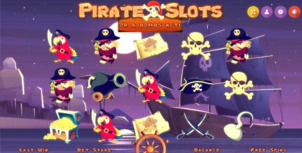 PirateSlots Casino Platform - HTML5