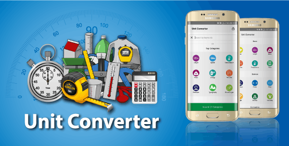 Unit Converter Calculator- Android Source Code - CodeCanyon Item for Sale
