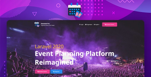 Eventmie Pro - Multi-organization Event Management & Ticket Selling Platform - CodeCanyon Item for Sale