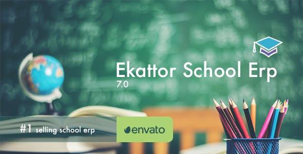 Ekattor School Erp