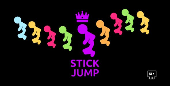 Stick Jump | Html5 Mobile Game | android & ios