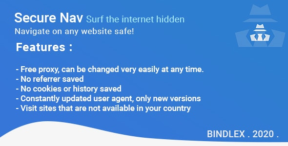 Secure Nav - Surf the internet hidden - CodeCanyon Item for Sale