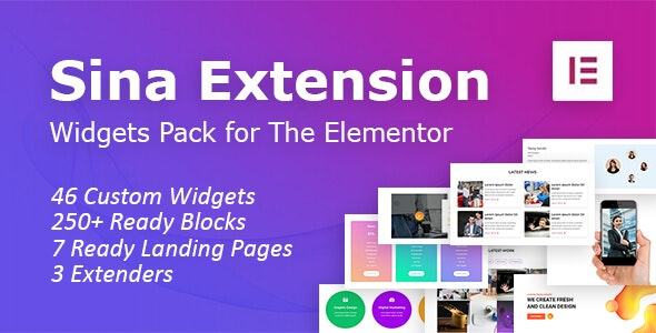 SEFE - Sina Extension for Elementor - CodeCanyon Item for Sale