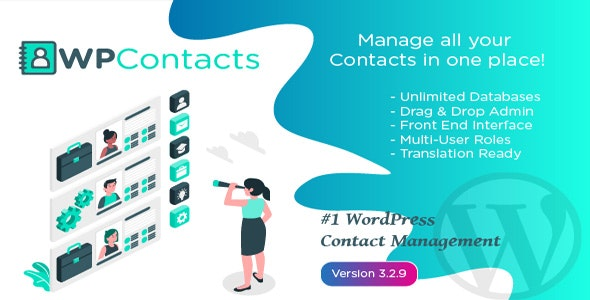 WP Contacts - Contact Management Plugin - CodeCanyon Item for Sale
