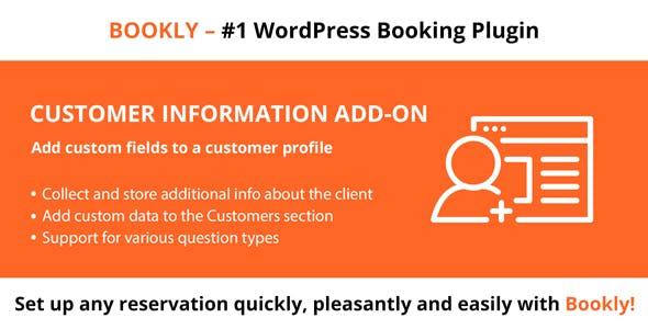 Bookly Customer Information (Add-on)