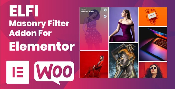 Elfi Masonry Filter Addon for Elementor - CodeCanyon Item for Sale