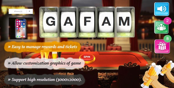Lottery - HTML5 Game - CodeCanyon Item for Sale