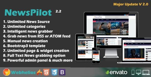 NewsPilot - Autopilot News Script 2018 - CodeCanyon Item for Sale