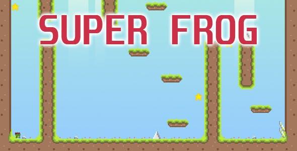 Super Frog - HTML5 Game (CAPX)