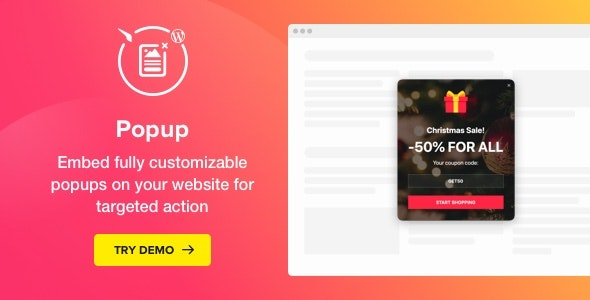 Popup Maker - WordPress Popup Plugin - CodeCanyon Item for Sale