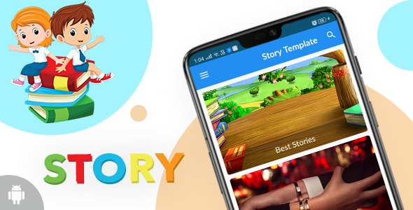 Story Template for Android with PHP Backend - CodeCanyon Item for Sale