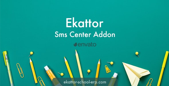 Ekattor Sms Center Addon - CodeCanyon Item for Sale