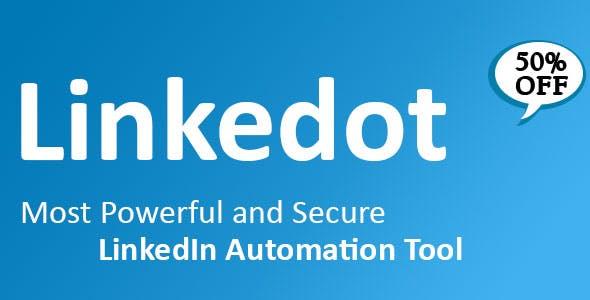 Linkedot - Linkedin Automation Tool