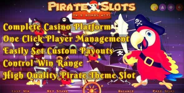 PirateSlots - Without BackOffice