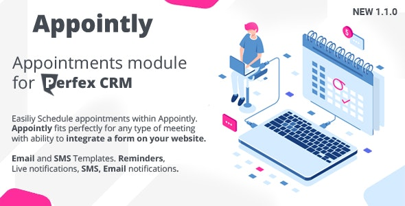 Appointly - Perfex CRM Appointments - CodeCanyon Item for Sale