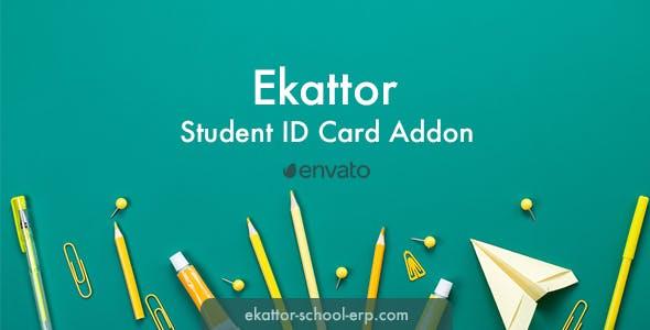 Ekattor Student ID Card Addon